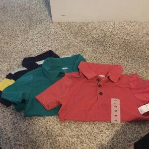 Set of 3 Brand New Old Navy Boyd's polos-size 5